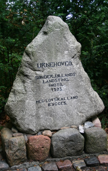 Oksevejen fra Hjordkær til Bommerlund Plantage